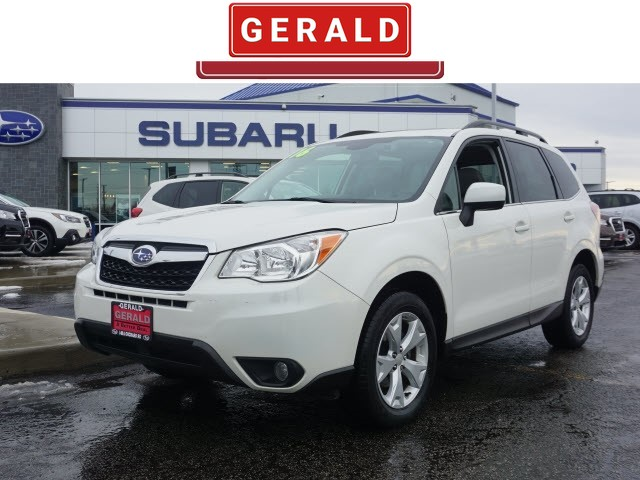 Pre Owned 2016 Subaru Forester 2 5i Limited Suv For 20486a Gerald Kia Of North Aurora